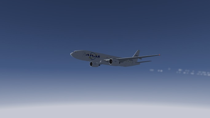 Flight AVX9777 (EHAM-GCXO) during Cruise.