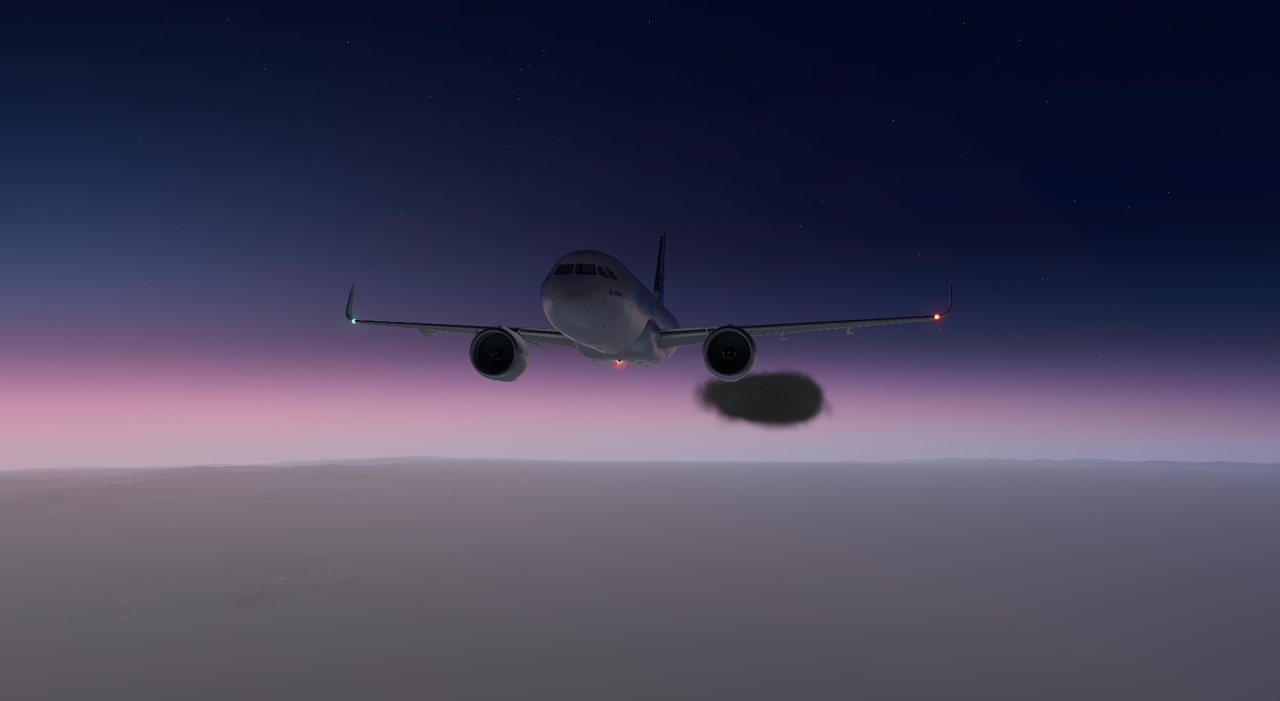 Sunset en-route to LYTV from LJLJ
