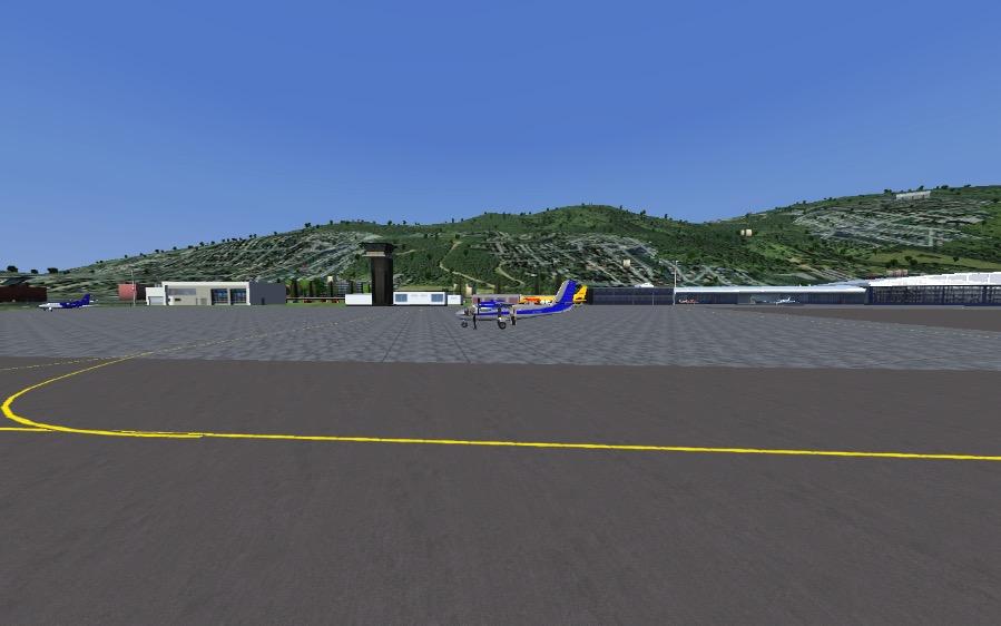 DHC6-300 at Lugano.